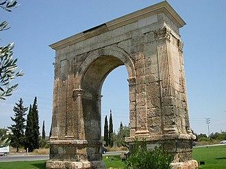 History of Catalonia - Arc de Berà (Roda de Berà, Tarragona)