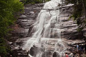 Arethusa Falls - Image: Arethusa Falls 2014