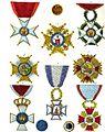 Aristide Michel Perrot - Collection historique des ordres de chevalerie civils et militaires (1820) pl. XVIII.jpg