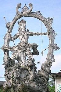 Arjuna statue.JPG