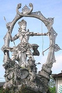 Arjuna Character from Indian epic Mahabharata