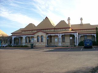 Armidale railway station railway station in New South Wales, Australia