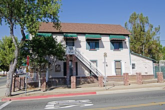 National Register of Historic Places listings in Riverside County, California - Image: Armory Hall Wiki 5a