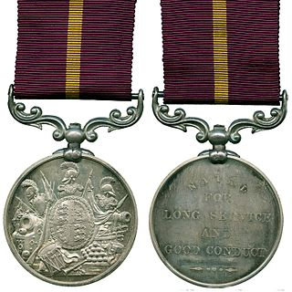 Army Long Service and Good Conduct Medal (Natal)