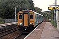 Arriva Trains Wales Class 150, 150284, Cefn-y-bedd railway station (geograph 4025253).jpg