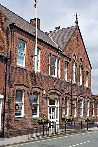 Ashton-in-Makerfield - Former Ashton-in-Makerfield Town Hall (demolished in 2017)