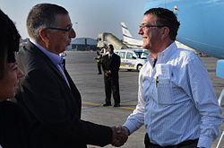 Ashton B. Carter first day in Israel July 21, 2013 130721-M-EV637-351 (9338487848).jpg