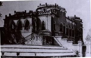 Heritage structures in Hyderabad, India - Asman Garh Palace, circa 1900