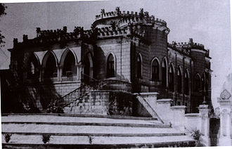 Heritage structures in Hyderabad, India - Asman Garh Palace, circa 1900