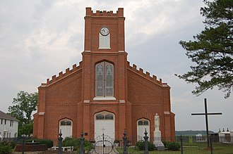 National Register of Historic Places listings in Assumption Parish, Louisiana - Image: Assumption Catholic