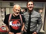 Astronaut Buzz Aldrin with Grant Schreiber at Radio City Music Hall, New York.jpg