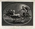 Astronomy; the Sun in his chariot. Engraving by C. Lasinio a Wellcome V0024878.jpg