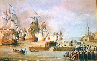 Melchor de Navarrete - Navarrete defended Cartagena in the Battle of Cartagena de Indias.