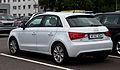 Audi A1 Sportback 1.6 TDI Ambition – Heckansicht, 5. September 2012, Wuppertal.jpg