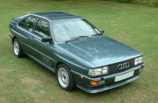 Audi Quattro green
