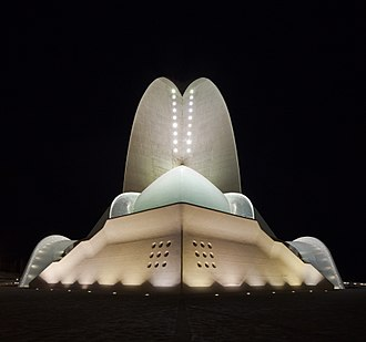 Auditorio de Tenerife - Auditorio de Tenerife by night