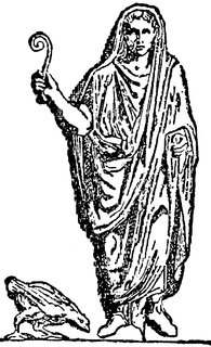priest and official in the classical world, especially ancient Rome and Etruria