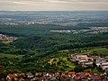 Ausblick vom Jusiberg Richtung Esslingen (z. B. EnBW Kraftwerk Deizisau) - panoramio.jpg
