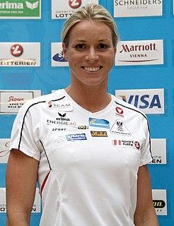 Jördis Steinegger Austrian swimmer