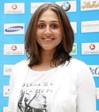 Tamira Paszek - Paszek part of the 2012 Austrian Olympic Team