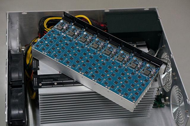 640px Avalon An ASIC base bitcoin machine
