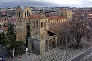 San Vicente de Ávila - Basilica of San Vicente de Ávila.