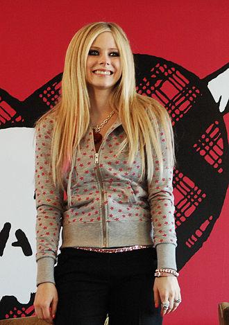 Tik Tok - Image: Avril Lavigne in Hongkong Press cropped