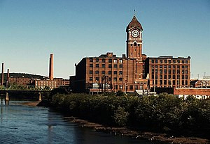 Frederick Ayer - Ayer Mill, Lawrence, Massachusetts, named for Frederick.