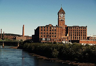 American Woolen Company - Ayer Mill, Lawrence, Massachusetts