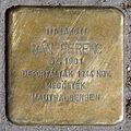 Bán Ferenc stolperstein (Budapest-13 Hollán Ernő u 3).jpg