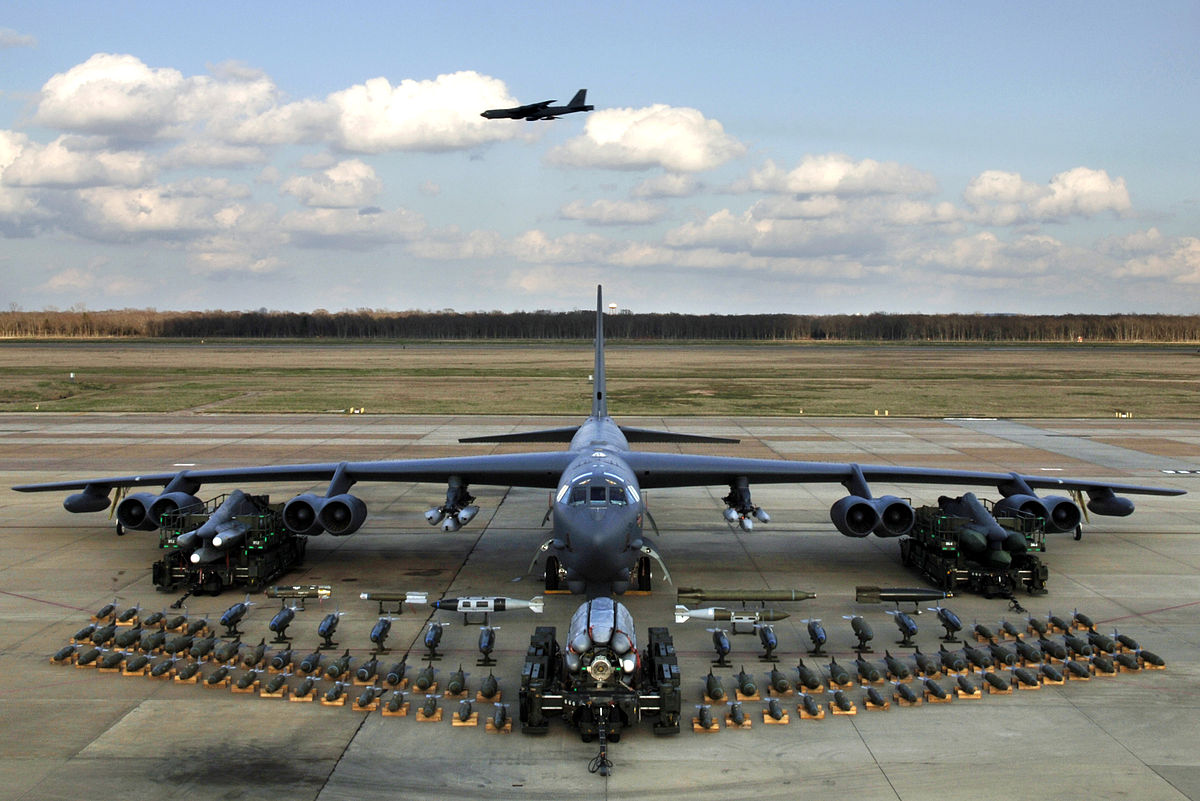 B-52, bomber (Boeing B-52): description, specifications, weapons 36
