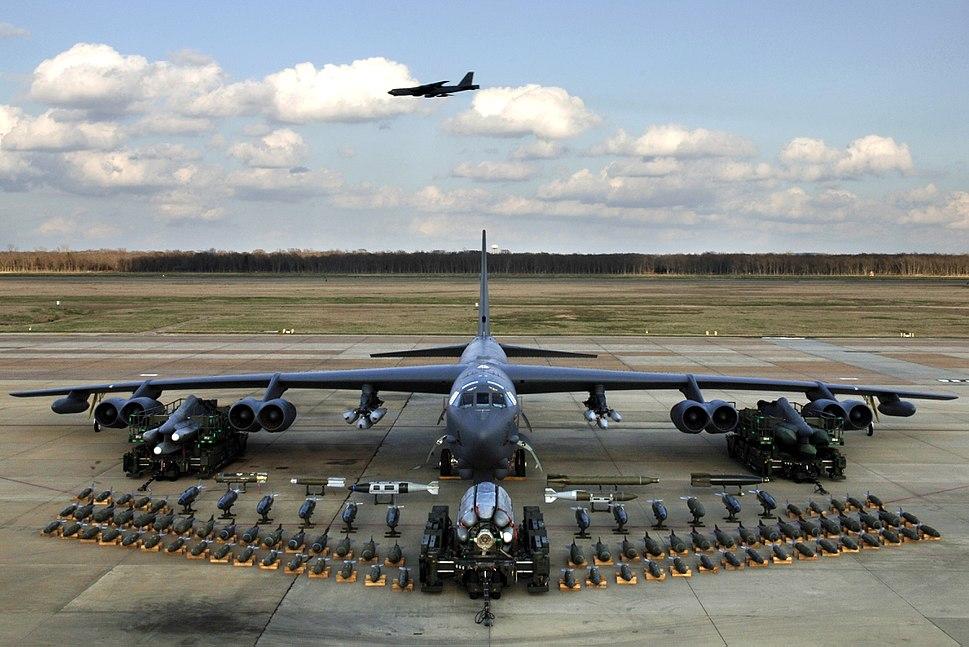 B-52H static display arms 06