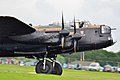 BBMF Lancaster PA474 at RIAT Fairford 2012 Flickr 7584557832.jpg