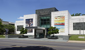 Birmingham Museum of Art - Oscar Wells Memorial entrance to the museum