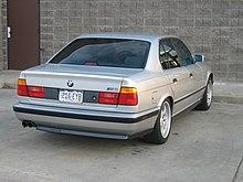 BMW M Wikipedia - 1990 bmw m5