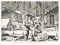 BOILLOT(1899) p125 MINEURS À DAWSON.-D'APRÈS UNE PHOTOGRAPHIE DE LA ROCHE, À SEATTLE.jpg