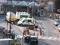 BTP vans at York.JPG