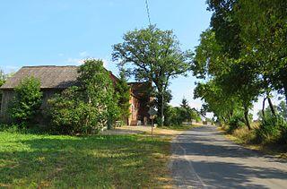 Buk Góralski Village in Kuyavian-Pomeranian Voivodeship, Poland