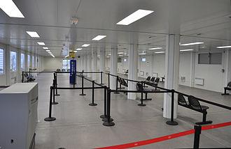 Beauvais–Tillé Airport - Departure gate area