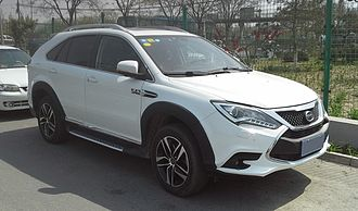 Automotive industry by country - BYD Tang