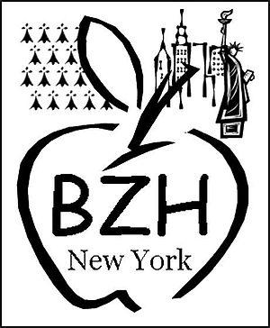 Breton soccer teams in New York - Image: BZHNY logo club