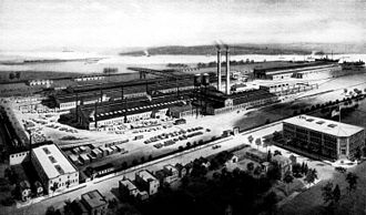 Babcock & Wilcox - Image: Babcock & Wilcox Co Works Bayonne, New Jersey circa 1919