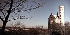 Baden-Württemberg Schloss-Lichtenstein ViewFromNorthSide.jpg