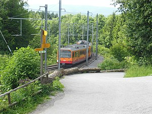 Uetliberg railway station - Image: Bahnhof Uetliberg 2012 01