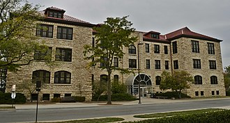 National Register of Historic Places listings in Douglas County, Kansas - Image: Bailey Hall