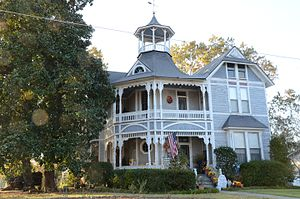 National Register of Historic Places listings in Bradley County, Arkansas - Image: Bailey House, Warren, AR