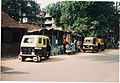 Bajaj Auto Rickshaw (2 types) in Goa, India (16606031563).jpg
