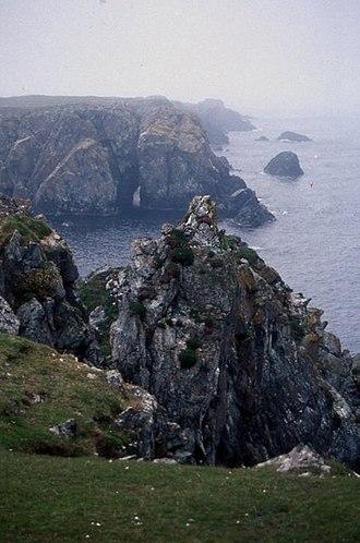 Balta, Shetland - East cliffs of Balta