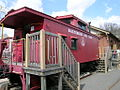 Baltimore and Ohio Railroad Museum, caboose (21005900243).jpg