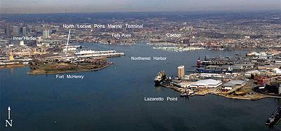 巴尔的摩港